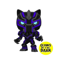 PRE ORDER Marvel Mech Black Panther Glow In The Dark Funko Pop! Vinyl