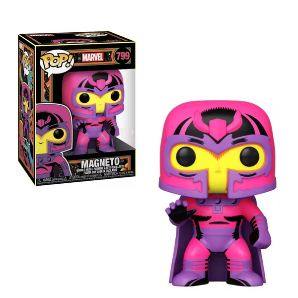 PRE ORDER Marvel Black Light Magneto Funko POP Vinyl