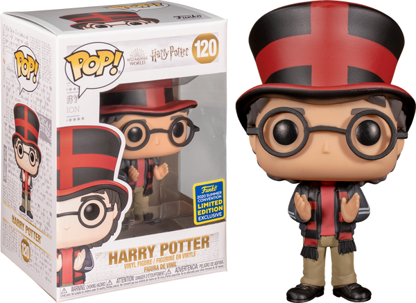 Harry Potter At Quidditch World Cup SDCC 2020 Funko Pop Vinyl Figure