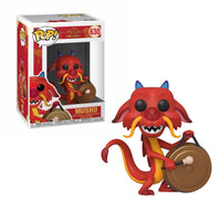 PRE ORDER POP Disney: Mulan - Mushu With Gong