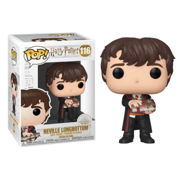 Harry Potter Neville With Monster Book Funko Pop Vinyl Figure