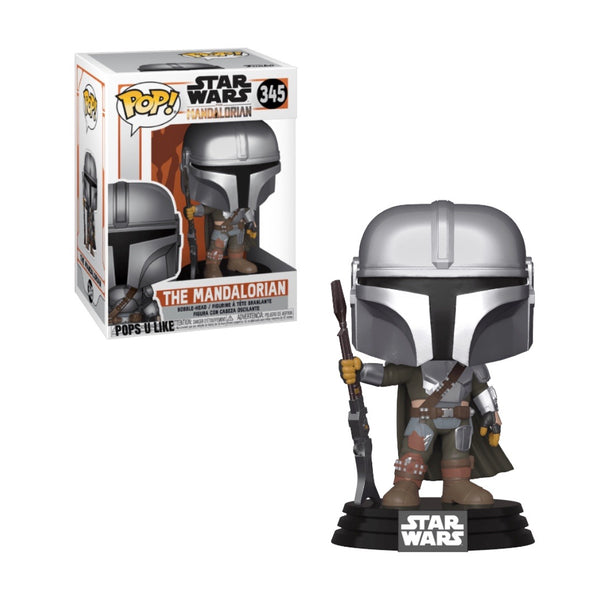 Star Wars Mandalorian The Mandalorian Funko Pop Vinyl Figure