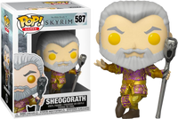 PRE ORDER The Elder Scrolls V Skyrim Sheogorath With Wabbajack Metallic Funko Pop Vinyl Figure 2020 E3 Convention Exclusive