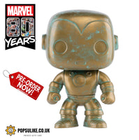 Marvel 80th Anniversary Iron Man Funko Pop Vinyl Figure