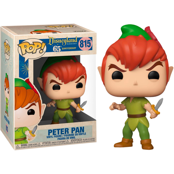 PRE ORDER Peter Pan Disneyland 65th Anniversary Funko Pop! Vinyl
