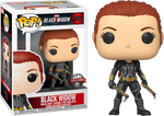 Marvel Black Widow In Grey Suit Funko Pop Vinyl Figure Special Edition Exclusive