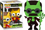 Simpsons Devil Flanders Glow In The Dark Funko Pop! Vinyl