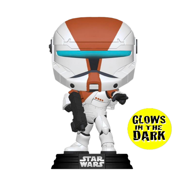 PRE ORDER Star Wars Republic Commando Boss Glow in the Dark Funko Pop! Vinyl