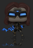 Marvel Avengers Game Black Widow (Stark Tech Suit) Funko Pop Vinyl Figure