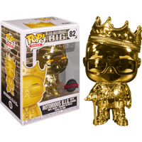 PRE ORDER Notorious B.I.G. with Crown Gold Chrome Funko Pop! Vinyl