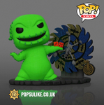 Disney The Nightmare Before Christmas Oogie Boogie with Spinwheel (Spinning Wheel) Funko Pop Vinyl Glow In The Dark Exclusive
