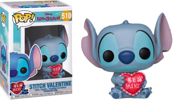 Lilo And Stitch Stitch Valentine Funko Pop Vinyl Figure Disney Collection