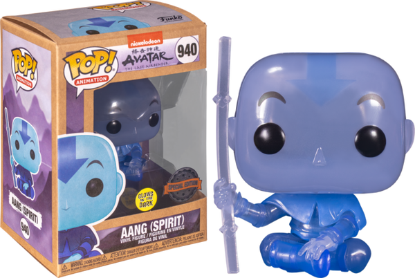PRE ORDER Avatar The Last Airbender Spirit Aang Glow in the Dark Funko Pop! Vinyl