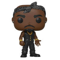 2 Pac Tupac Vest With Bandana Funko Pop Vinyl Figure
