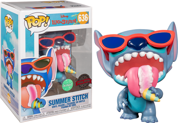 PRE ORDER Lilo And Stitch Summer Stitch Scented Funko Pop Vinyl Figure Disney Special Edition