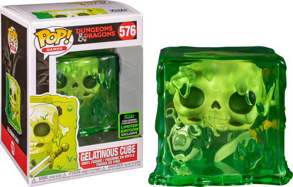 Dungeons & Dragons Gelatinous Cube Funko Pop Vinyl ECCC 2020 Exclusive