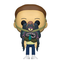 PRE ORDER Rick and Morty Morty With Glorzo Funko Pop! Vinyl Figure