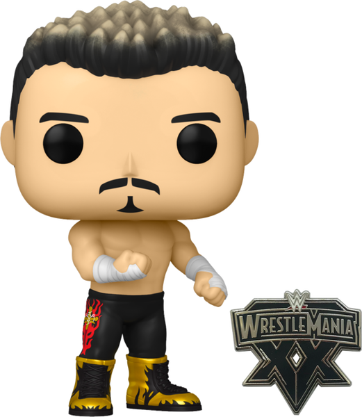 PRE ORDER WWE Eddie Guerrero Funko Pop! Vinyl Figure with Enamel Pin