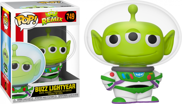 Disney Pixar Alien Remix Buzz Funko Pop Vinyl