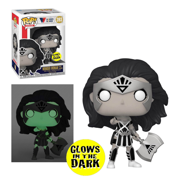 PRE ORDER DC Comics Wonder Woman 80th Wonder Woman Black Lantern Glow In The Dark GITD Funko Pop! Vinyl