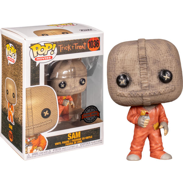 Trick 'R Treat Sam with Razor Candy Funko Pop! Vinyl