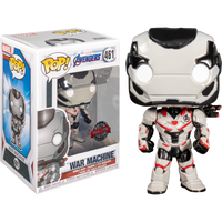PRE ORDER Avengers 4 Endgame War Machine in Team Suit Funko Pop! Vinyl