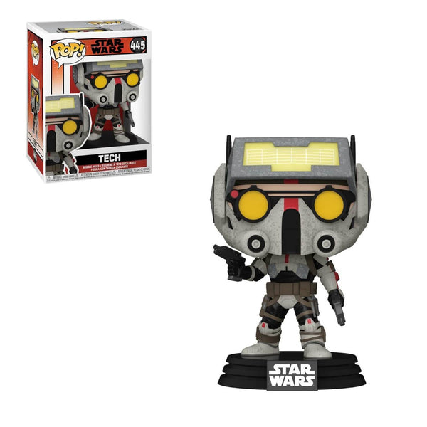 PRE ORDER Star Wars Bad Batch Tech Funko Pop! Vinyl