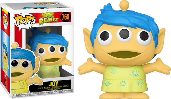 Disney Pixar Alien Remix Joy Funko Pop! Vinyl