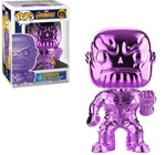 Thanos Chrome (Purple) Funko Pop Vinyl Figure Marvel Infinity War Exclusive #415
