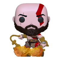 PRE ORDER God of War Kratos with Blades of Chaos Glow in the Dark Funko Pop! Vinyl Figure