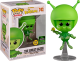 The Flinstones The Great Gazoo Glow In The Dark Funko Pop Vinyl Figure ECCC 2020 Exclusive