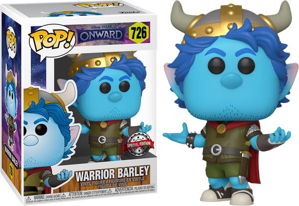 Disney Onward Barley In Warrior Outfit Funko Pop! Vinyl Figure