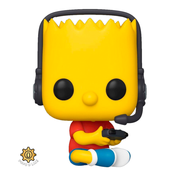 The Simpsons Gamer Bart Funko POP Vinyl