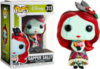 Disney The Nightmare Before Christmas Dapper Sally Diamond Glitter Funko Pop Vinyl
