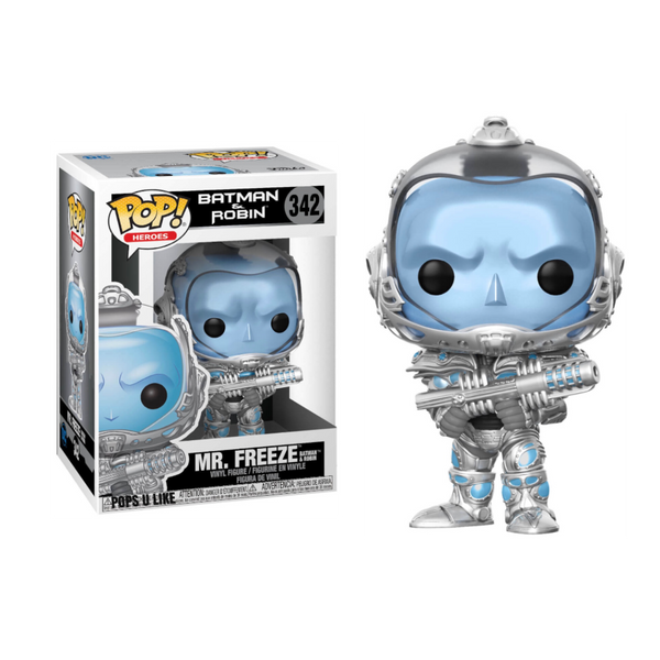 DC Heroes Batman & Robin Mr. Freeze Funko Pop Vinyl Figure