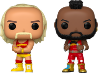WWE NWSS Hulk Hogan And Mr T 2 Pack Funko Pop! Vinyl Figure