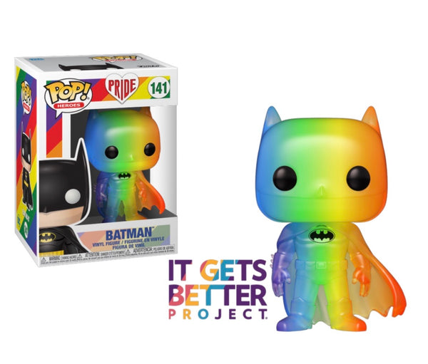Pride 2020 Rainbow Batman Funko Pop! Vinyl Figure