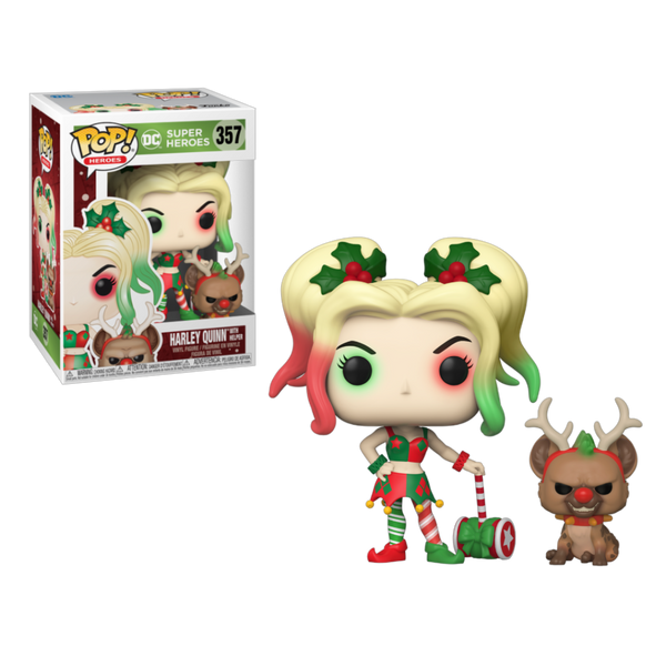 PRE ORDER DC Harley Quinn With Helper Funko POP Vinyl