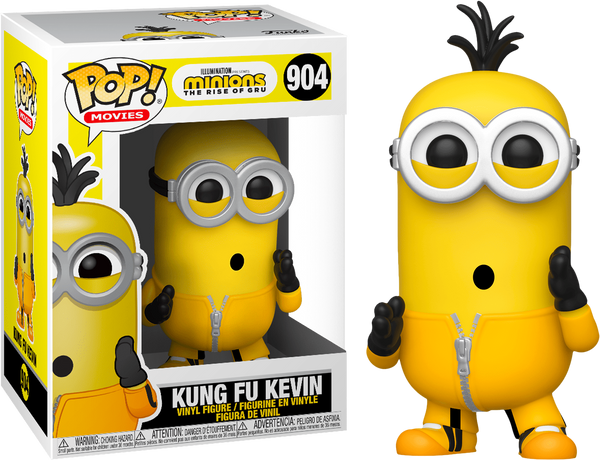 PRE ORDER Minions 2 Kung Fu Kevin Funko Pop Vinyl Figure The Rise Of Gru