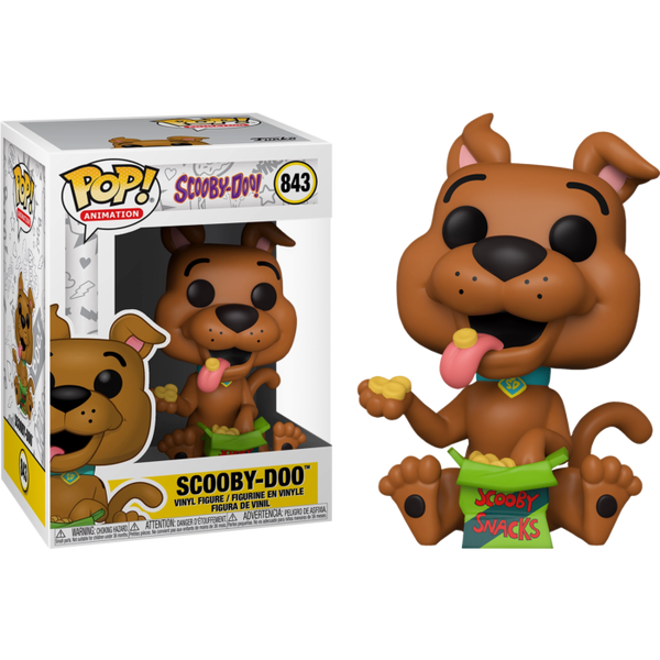 Scooby Doo with Scooby Snacks Funko Pop! Vinyl