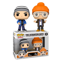PRE ORDER The Office Scranton Boys Funko POP Vinyl 2 Pack