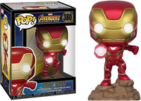 Iron Man Light Up Funko Pop Vinyl Figure Marvel