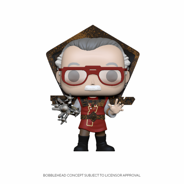 PRE ORDER Marvel Stan Lee in Ragnarok Outfit Funko Pop Vinyl Figure
