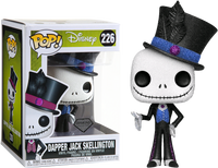 Disney The Nightmare Before Christmas Dapper Jack Diamond Glitter Funko Pop Vinyl