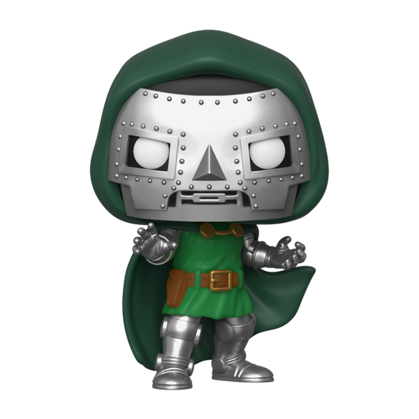 POP Marvel: Fantastic Four - Doctor Doom Funko Pop Vinyl Figure