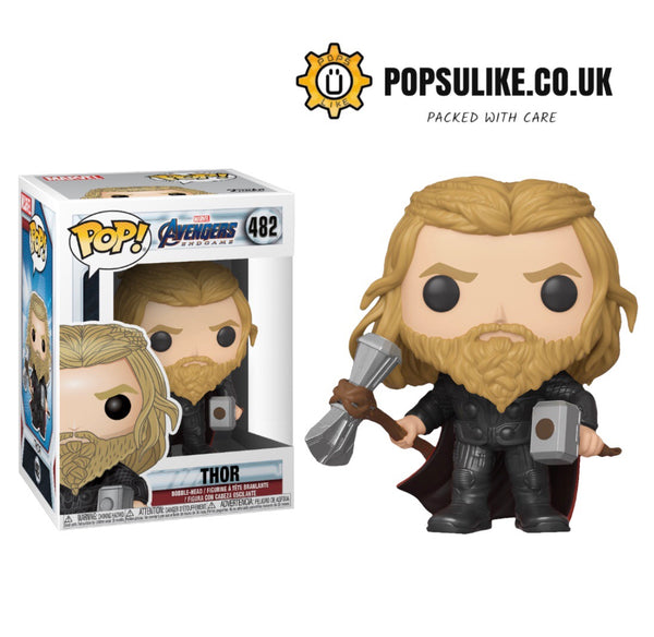 PRE ORDER Marvel Avengers Endgame Thor With Hammer And Stormbreaker Funko Pop Vinyl #482