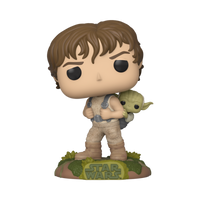 Star Wars Training Luke with Yoda Funko Pop Vinyl Figure