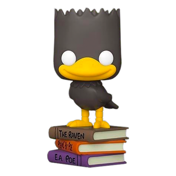 PRE ORDER Simpsons Bart As The Raven Funko POP Vinyl