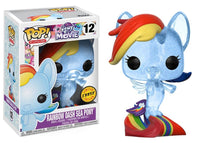 My Little Pony Rainbow Dash Sea Pony Chase Funko Pop Vinyl Figure #12
