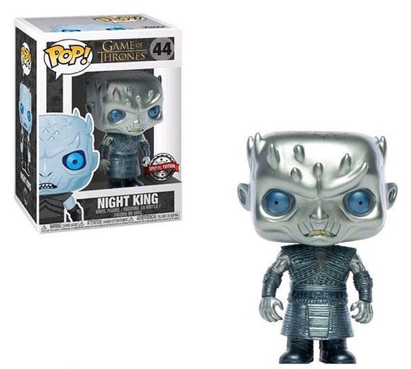 Game Of Thrones Metallic Night King Funko Pop! Vinyl Special Edition #44